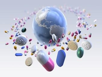 médicaments partout dans le monde