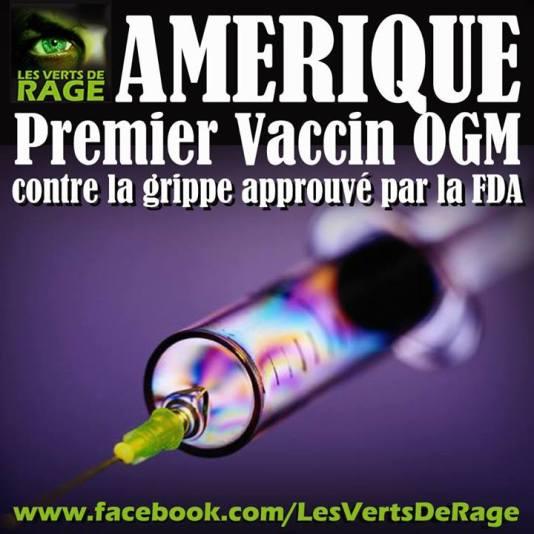 Vaccin OGM